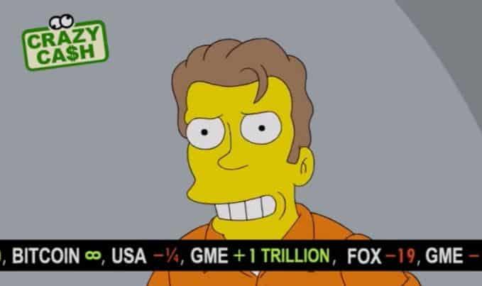 Simpsons'un Son Bölümünde Dikkat Çeken Bitcoin Fiyatı