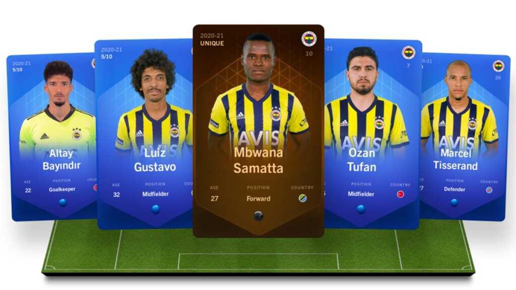 Sorare, NFT, Fenerbahçe, Galatasary, Ronaldo, Juventus, Chealse