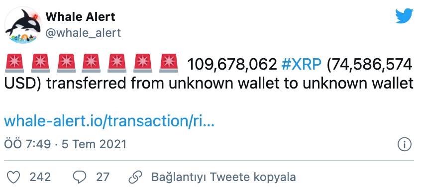 XRP tokeni, XRP token