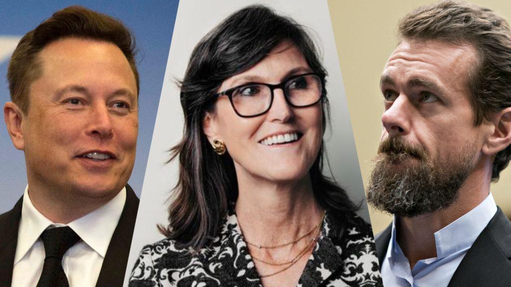 bitcoin, Elon Musk, Jack Dorsey